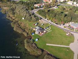 Tauchlehrerausbildungszentrum am Bernsteinsee/Goitzsche,Sachsen-Anhalt,Deutschland,Sachsen Anhalt