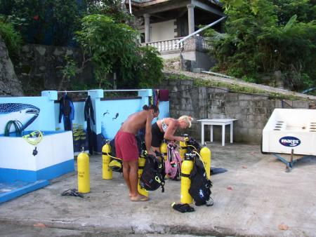 Big Blue Divers,Mahé,Seychellen