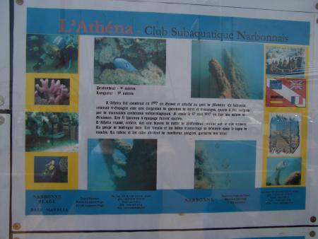 Club Subaquatique de Narbonne,Narbonne-plage (Südfrankreich),Frankreich