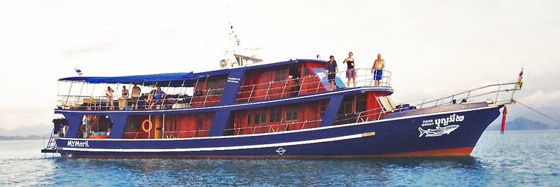 Burma Trip - Tauchschiff , Aladdin Dive Safari, Koh Chang, Ranong, Thailand, Andamanensee