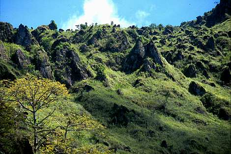 Insel Camiguin vor Mindanao, Camiguin,Mindanao,Philippinen