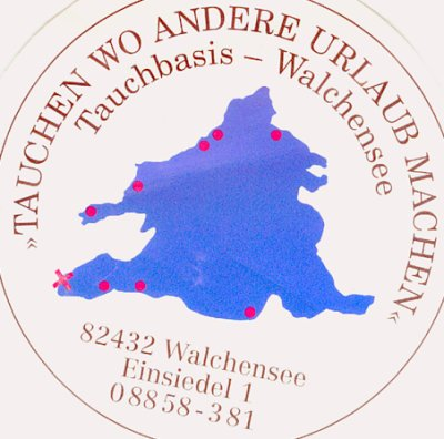 Tauchbasis Tom,Walchensee,Bayern,Deutschland