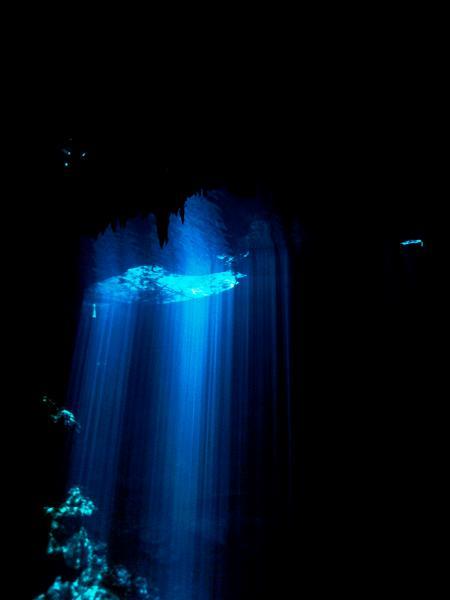 Cenote El Pit,Mexiko