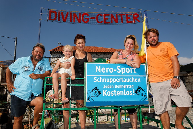 Nero Sport Diving Center, Zakynthos, Griechenland