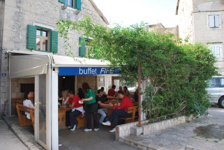 Buffet Fife,Split,Kroatien