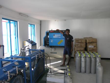 Eriyadu,Diving Center Werner Lau,Malediven