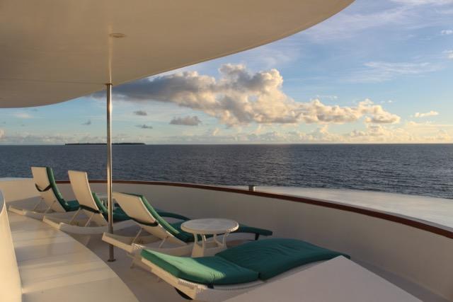 Sonnendeck, Carpe Novo Explorer, Malediven
