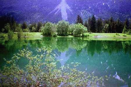 Lechausee,Reutte,Österreich