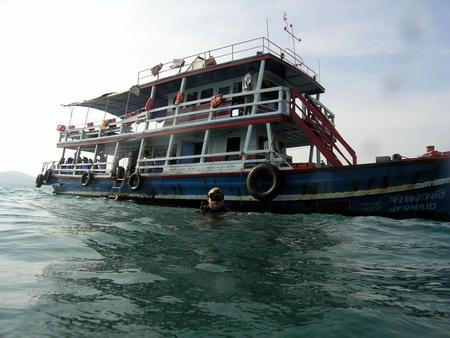 Mermaid´s Dive Center,Pattaya,Golf von Thailand,Thailand