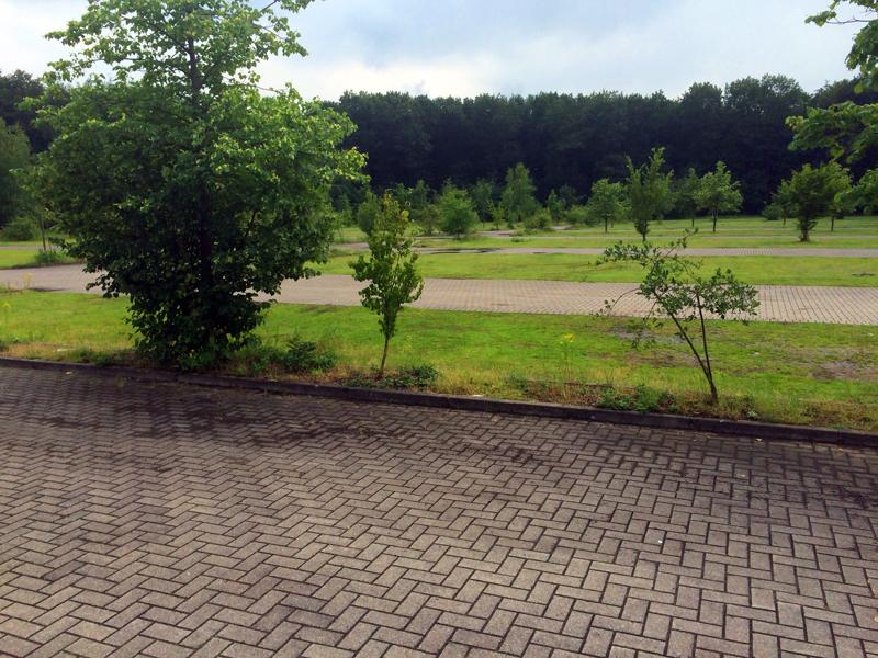 Parkplätze am Strandbad, tenderingssee, voerde, nrw, Tenderingssee, Deutschland, Nordrhein-Westfalen