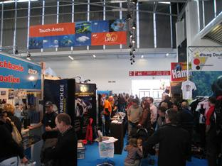 Tauch-Arena der Messe f.re.e 2009