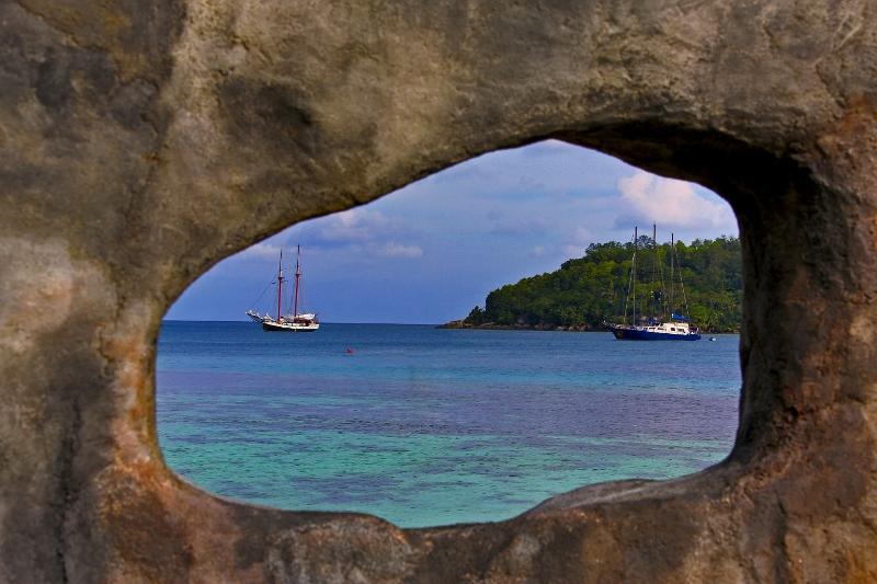 Sea Pearl und Sea Star, Sea Pearl, Seychellen