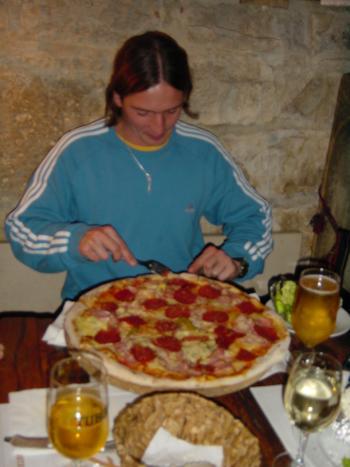 Pizzeria Dali,Porec,Kroatien