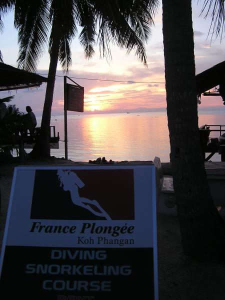 France Plongee,Koh Phangan,Golf von Thailand,Thailand