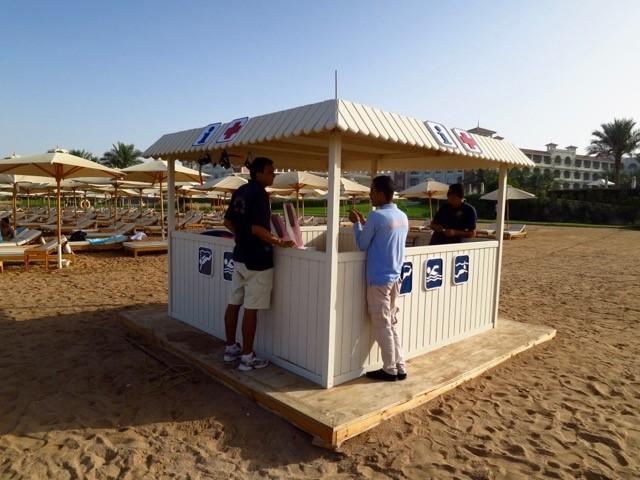 SUBEX Strandhütte Baron Palace - Sahl Hasheesh, Sahl Hasheesh, Baron Palace, SUBEX, Hurghada, Ägypten, Rotes Meer, SUBEX Sahl Hasheesh im Baron Palace