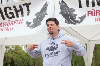 Tim Mälzer und seine Aktion Fishfight