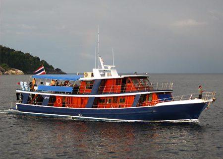 MY Merit - Aladdin Dive Safari,Aladdin Dive Safari,Koh Chang,Ranong,Andamanensee,Thailand