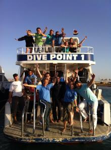 Dive Point Red Sea