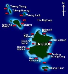 PULAU TENGGOL,Malaysia
