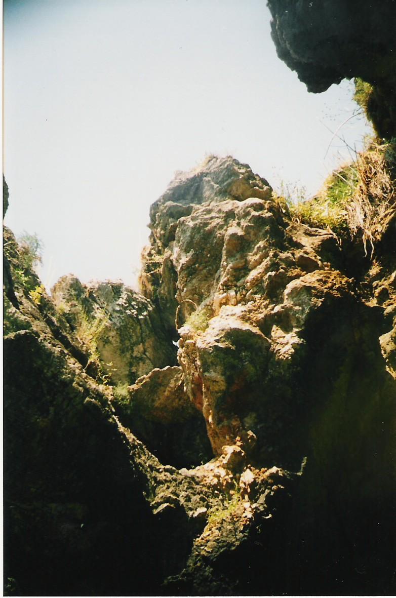 Vrsar, Vrsar,Kroatien,Banjol,Rovinj,Höhle,Grotte,Öffnung