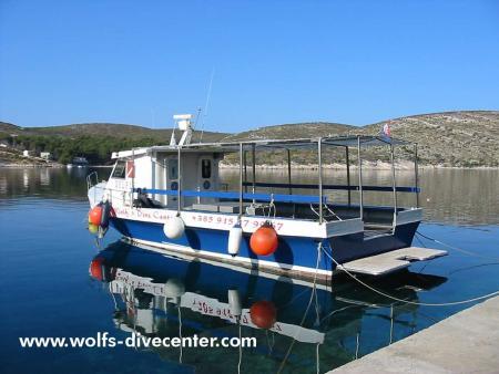 Wolf`s Divecenter,Hvar,Kroatien