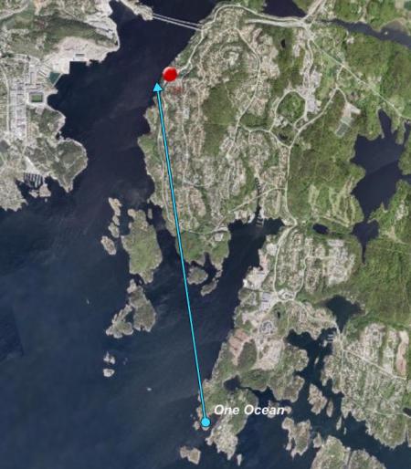 Kristiansand,Søm - Freeomrode,Norwegen