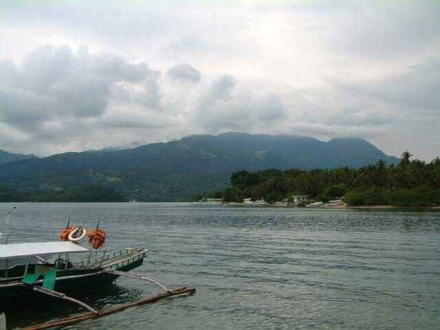 Sabbang Beach, Insel Mindoro, Sabang Beach,Mindoro,Philippinen