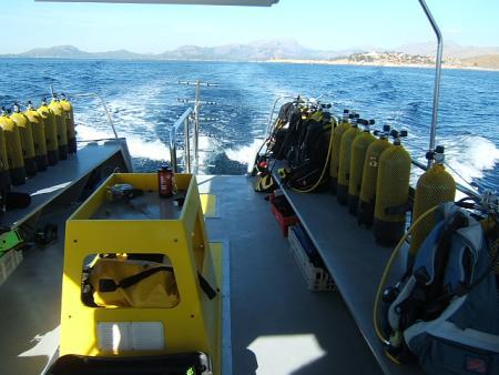 Pro Dive Action Sport Port de Pollenca Mallorca,Balearen,Spanien