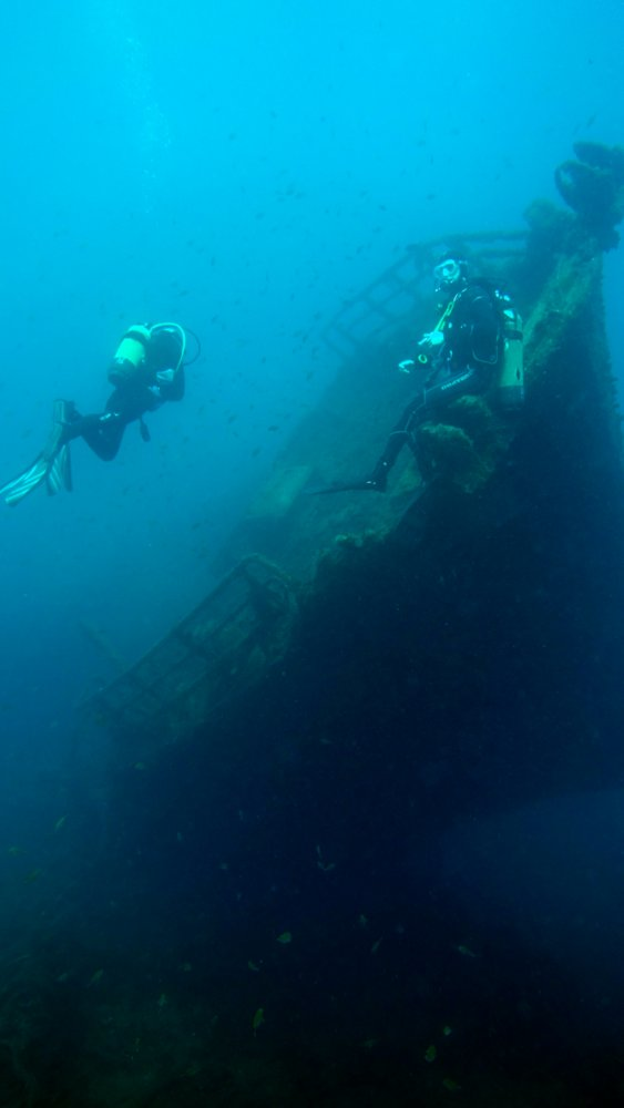 Wrack, Wrack, Daivoon Dive Center, Lanzarote, Costa Teguise, Spanien, Kanarische Inseln