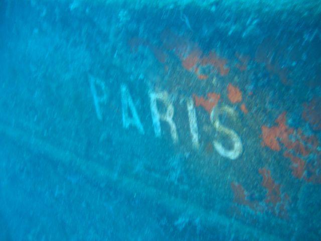 Wrack der PARIS, Kemer,Wrack Paris II,Türkei