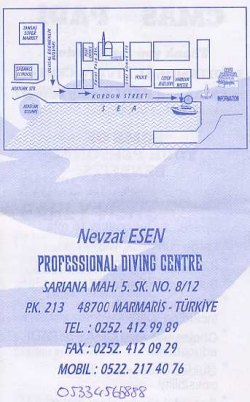 Professional Diving Centre,Marmaris,Türkei