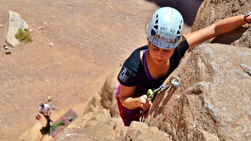 Klettern, dahab, Desert Divers, Dahab, Ägypten, Sinai-Nord ab Dahab