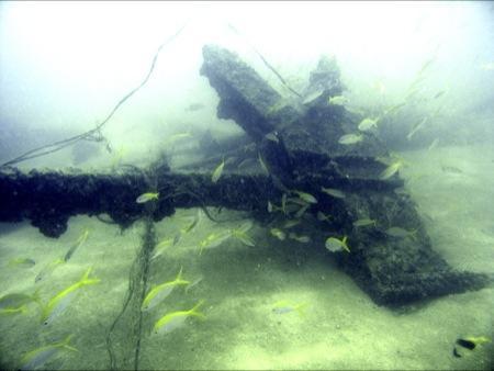 Tin Mining Wreck,Phuket Bang Tao Beach,Thailand