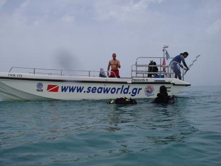Sea World Scuba Diving Center,Chalkidiki,Griechenland