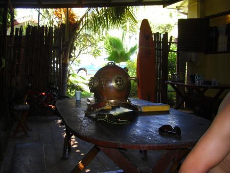 Octopus Diving,Praslin,Seychellen
