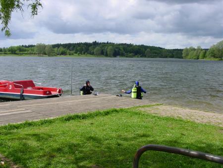 Stausee Losheim- Losheim am See,Saarland,Deutschland
