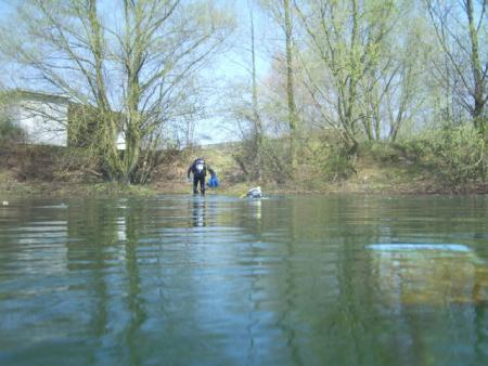 Euregio Maas Rhein - Überschreite eine Grenze beim Tauchen,Nordrhein-Westfalen,Deutschland
