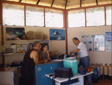 Barakuda Diving Center in Kemer/Tekirova,Türkei