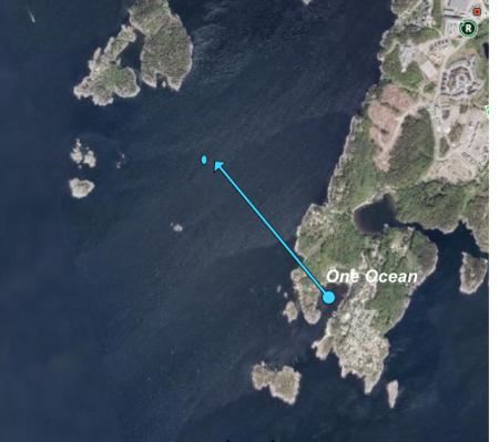 Kristiansand-MS Seattle,Norwegen