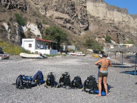 Santorini Dive Center,Santorini,Griechenland