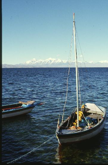 Titikaka-See,Insel Suazi,Peru