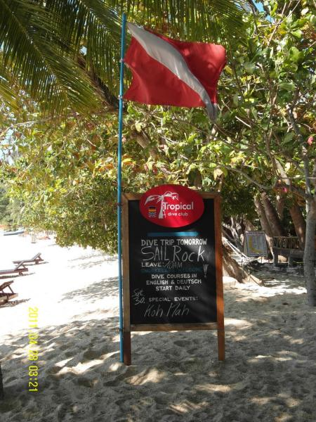 Tropical Dive Club,Ko Phangan,Golf von Thailand,Thailand