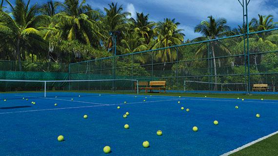 2 Tennisplätze, Tennis, Ocean Dimensions, Kihaa Maldives, Baa Atoll, Malediven