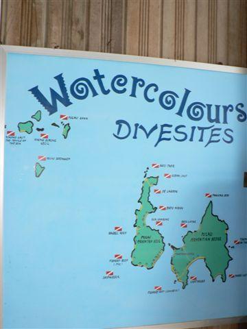 Watercolours DiveCentre,Perhentian Island,Malaysia