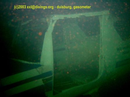 TauchGasometer Duisburg, Gasometer (Tauchrevier),Duisburg,Nordrhein-Westfalen,Deutschland