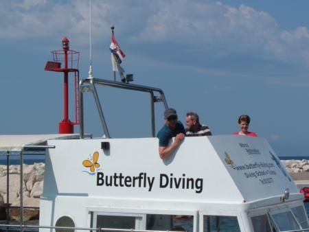 Butterfly Diving,Tucepi,Kroatien