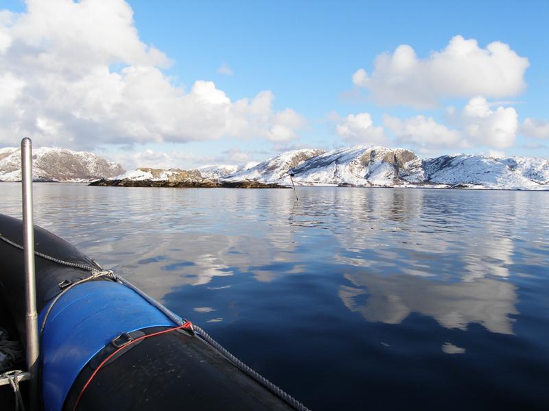 Namsfjorden und Folda, Namsfjord/Mittelnorwegen,Norwegen