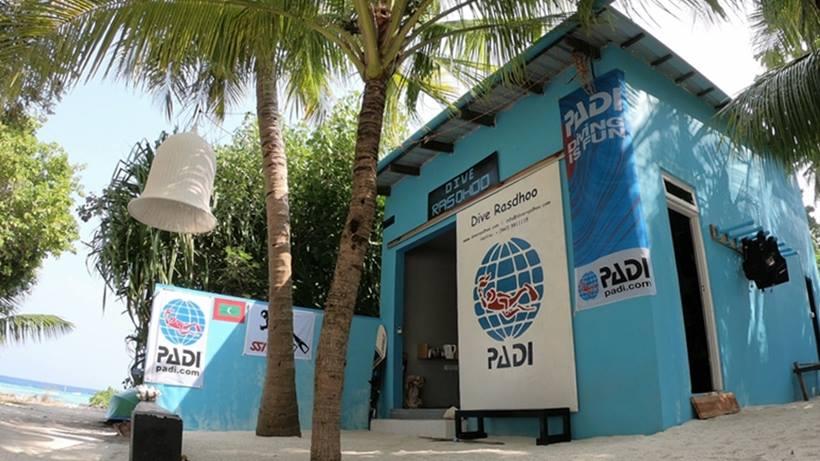"""Tauchbasis """"Dive Rasdhoo"""", TOP Tauchbasis, sehr zu empfehlen!, Dive Rasdhoo, Malediven"""