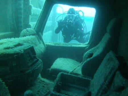 Aquatic World,Agia Efimia,Kefalonia,Wrack CHRISTINE LOME,Griechenland