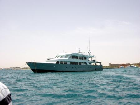 M/Y Explorer I,Ägypten